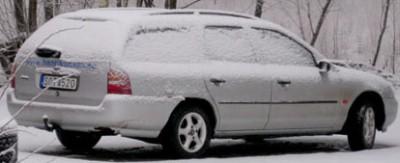 Det som göms i snö...