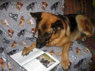 Debbie gillar att varva ner med en läsvärd bok
