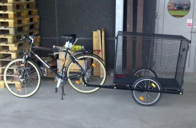 Cykelkärra / hundbur