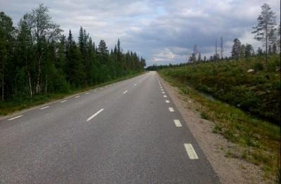Från vår cykelsemester: Kiruna / Ystad
