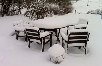 Det som sakta göms i snö...