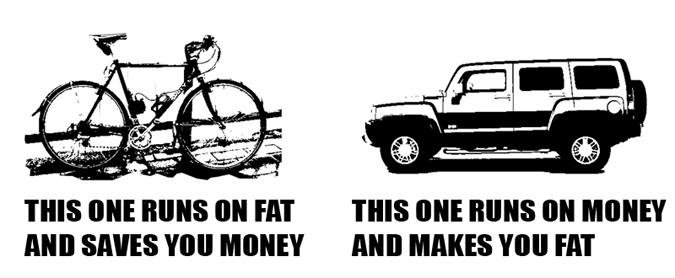 Cykel vs bil kopiera
